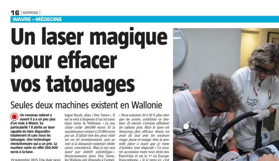 Article Presse Détatouage 2